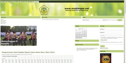 Website Resmi Yayasan Madrasah Ulumul Quran Aceh http://muqlangsa.net