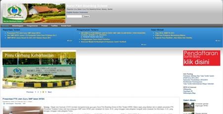 Website Resmi Yayasan Pesantren Ibnu Salam Nurul Fikri Boarding School http://nfbs.or.id