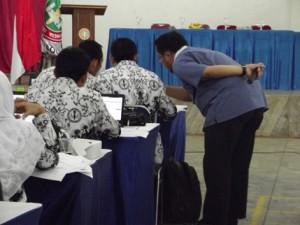 Narasumber Pelatihan Pembuatan Media Pembelajaran, bersama PGRI Kabupaten Bogor. 13 Januari 2015 #2