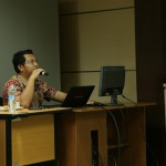 Menjadi Narasumber Materi Manajemen Course pada Kelas e-learning