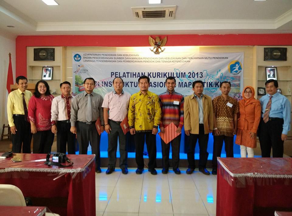 Pelatihan Instruktur Nasional Penerapan Kurikulum 2013