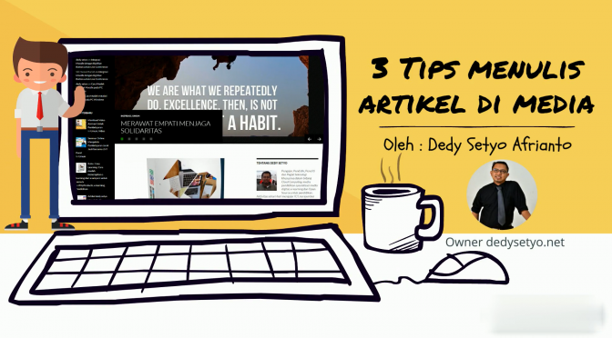 3 Tips Menulis Artikel di Media – Video Animasi